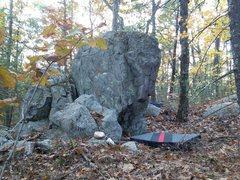 Rock Climbing Photo: Water buffalo boulder near whale rock