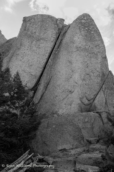 Rock Climbing Photo: Behold it and all its glory.