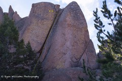 Rock Climbing Photo: A nice color pic taken in early November of 2016.