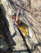 Rock Climbing Photo: The clip