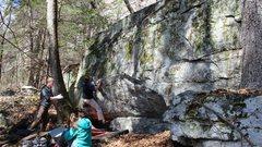 Rock Climbing Photo: Shashay you stay
