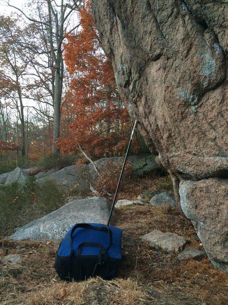Rock Climbing Photo: AC/DC.