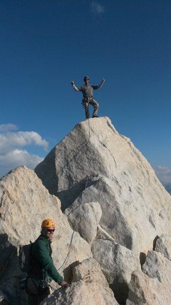 Summit of Bear Creek Spire