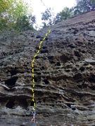 Rock Climbing Photo: Warm it up!