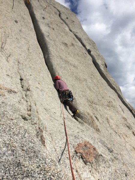 Rock Climbing Photo: Left side or right side in? Yep, I racked on the w...