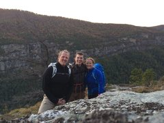 Rock Climbing Photo: Good day in the Linville Gorge amphitheater