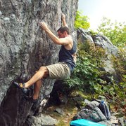 Rock Climbing Photo: Horizon Line, Grayson Highlands