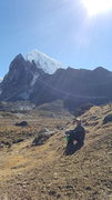 Rock Climbing Photo: Cholatse in the distance. Paul Taylor photograph