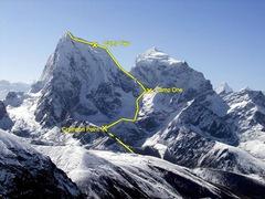 Rock Climbing Photo: Southwest Ridge Route