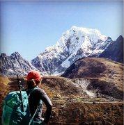 Rock Climbing Photo: Cholatse. Masha Gordon collection