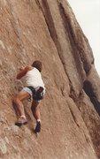 Rock Climbing Photo: John Barritt, '84 or so