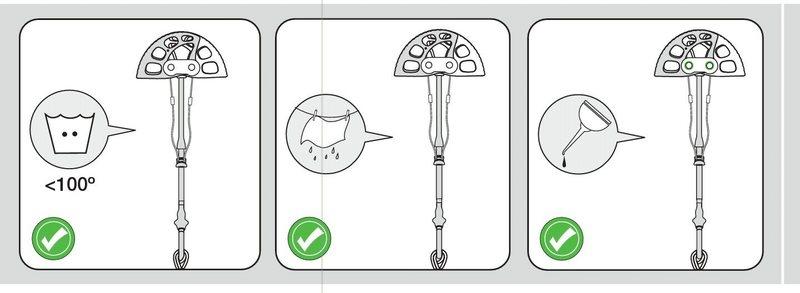 UL cam instructions