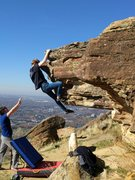 Rock Climbing Photo: Doing's Bob's Nose at Table Rock.
