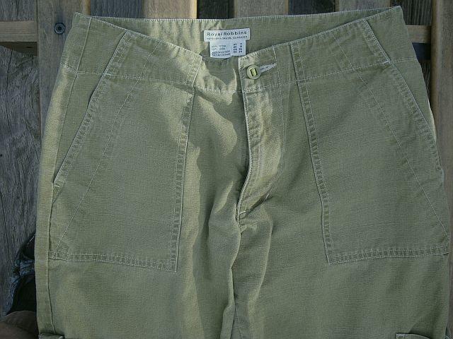 Royal Robbin Cotton Pants - Size 4