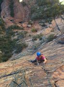 Rock Climbing Photo: Top of P2