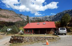 Rock Climbing Photo: Cabin overview