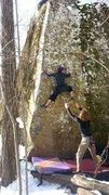 Rock Climbing Photo: Baka on Pick Up Sticks