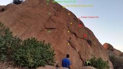 Rock Climbing Photo: Waco wall