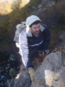Rock Climbing Photo: Sorry for the blur, but this is a good view of the...