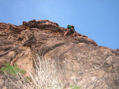 Rock Climbing Photo: This is a good view from directly below the anchor...