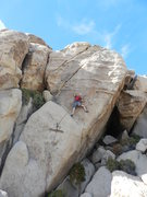 Rock Climbing Photo: JZ's lead