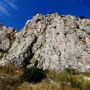 Rock Climbing Photo: Left side of the single pitch sport area of Stomor...