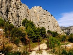Rock Climbing Photo: Rusty gate on road approach to Stomorica