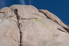 Rock Climbing Photo: Nothing is there!