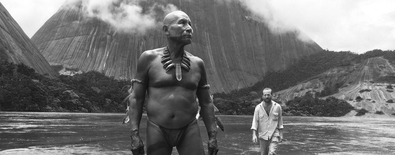 Advertising photo from the film Embrace of the Serpent (2016).