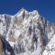 Rock Climbing Photo: Mt Blanc, Mt Maudit, East Face, Kuffner Ridge cent...