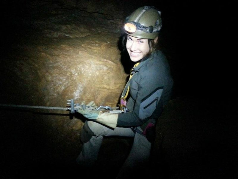 Caving in Whitings Neck.