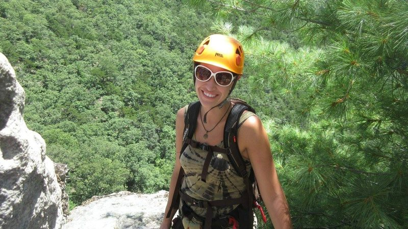 Rock Climbing Photo: Via Ferrata, WV.