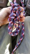 Rock Climbing Photo: Paranoid bowline
