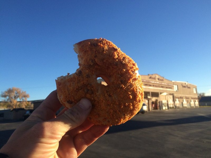 Make sure to stop by the Food Ranch for a fresh doughnut