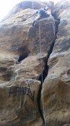 Rock Climbing Photo: left route?