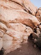 "Rock Climbing Photo: ""Rambler"" is a fun traverse just around ..."
