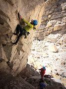 Rock Climbing Photo: Trenchcoat Mafia