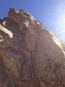 Rock Climbing Photo: At the Ecstasy anchors.