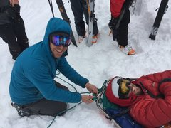 Rock Climbing Photo: My untimely end to a perfect powder day in the par...