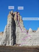 Rock Climbing Photo: The Minarets