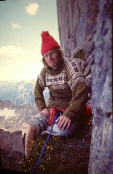 Jim Tangen-Foster on D7 in 1976.