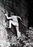 Rock Climbing Photo: Jim Tangen-Foster on Whope Wall in 1978, as it was...
