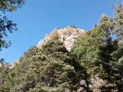 Rock Climbing Photo: This is the view from the hiking trail, which as y...