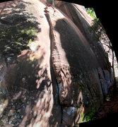 Rock Climbing Photo: corner on the right
