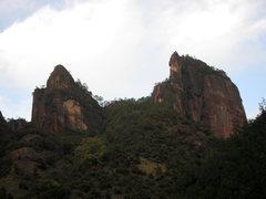Rock Climbing Photo: On the left