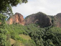 Rock Climbing Photo: Gorilla Face Cave and beyond