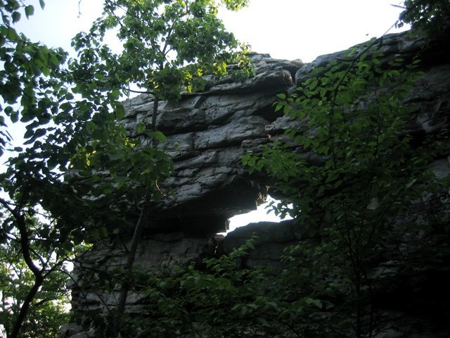 Arch on Fin Rock
