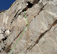 Rock Climbing Photo: Left Diagonals in Rush area in  sector 6 Lachenal ...