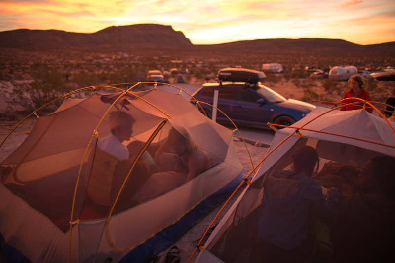 Mornings in Red Rocks<br> <br> Photo: Tyler Casey