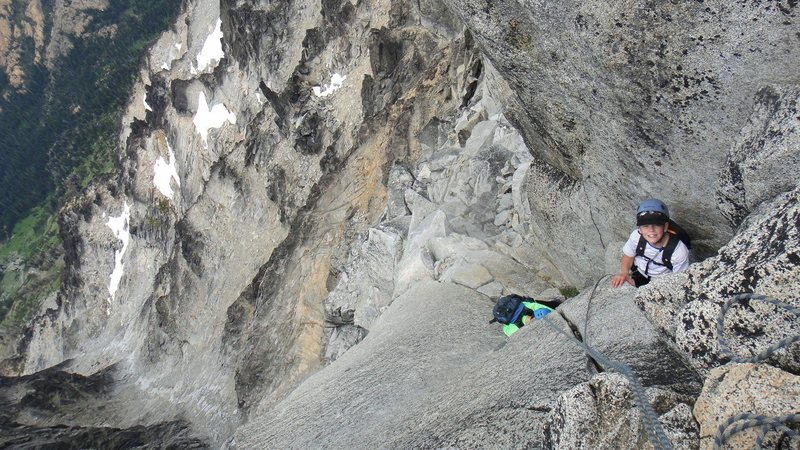 Rock Climbing Photo: My first mountain. This was the buggiest trip I ha...